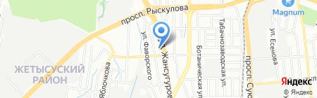 Sun Kiss на карте Алматы