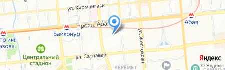 Баязит на карте Алматы