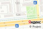 Схема проезда до компании ABTravel в Алматы