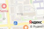 Схема проезда до компании АГОНДА в Алматы