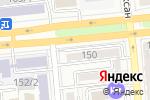 Схема проезда до компании Mars Studio в Алматы