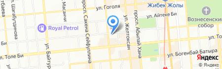 Voyage Travel Agency на карте Алматы