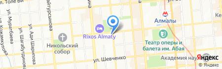 GrandOpera на карте Алматы