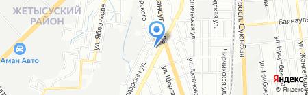 Жасмин на карте Алматы