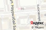 Схема проезда до компании Color Time в Алматы