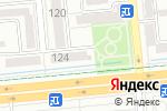 Схема проезда до компании YAROSH-STUDIO в Алматы