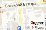Схема проезда до компании Neo Vita в Алматы