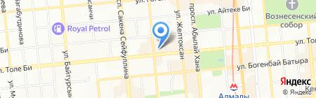 Silk Way City на карте Алматы