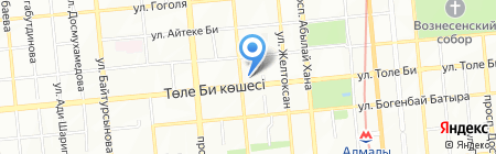 Sergio Paganelli на карте Алматы