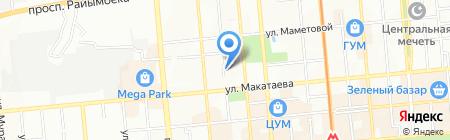 Confident Lex на карте Алматы