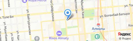 Знакомые лица на карте Алматы