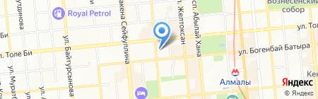 Котелок на карте Алматы