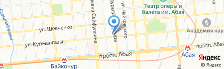 АТАМЕКЕН LTD на карте Алматы