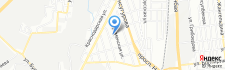 РАМА на карте Алматы