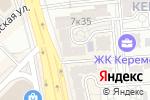 Схема проезда до компании Ficelle в Алматы