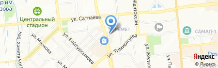 AIT на карте Алматы