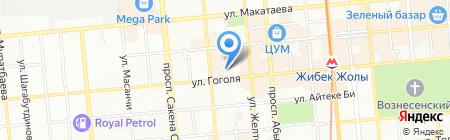 АГОНДА на карте Алматы