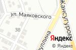 Схема проезда до компании Volkswagen Audi Porsche Interservice в Алматы