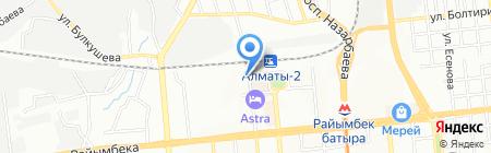 Асылхан на карте Алматы
