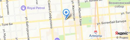 Адвокатская контора Мухажановой Г.Е. на карте Алматы