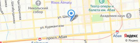 Экономический и коммерческий отдел Посольства Королевства Нидерландов в г. Алматы на карте Алматы