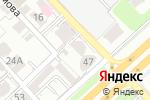 Схема проезда до компании Fuji Film в Алматы