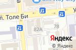 Схема проезда до компании Библиотечка предпринимателя в Алматы