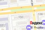 Схема проезда до компании Репро Мед в Алматы