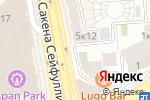 Схема проезда до компании Полосатый кот в Алматы