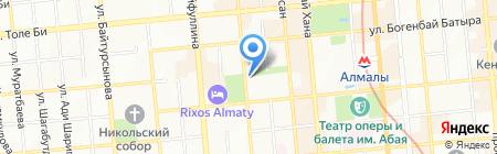 Центурион контакт сервис на карте Алматы