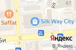 Схема проезда до компании SILK WAY CINEMA в Алматы