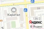 Схема проезда до компании La Danza в Алматы