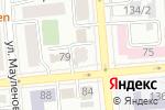 Схема проезда до компании English Miracle в Алматы
