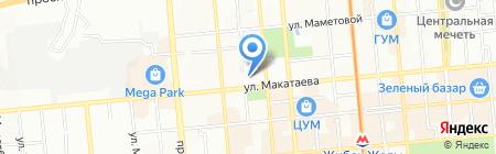 Winter Fantasy на карте Алматы