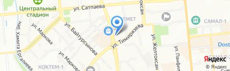 Изостудия в ЖК Керемет на карте Алматы
