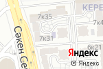 Схема проезда до компании Изостудия в Алматы