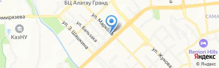 Fuji Film фотоцентр на карте Алматы