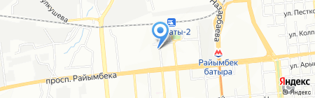 Golden Man на карте Алматы
