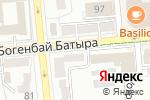 Схема проезда до компании Тыква в Алматы