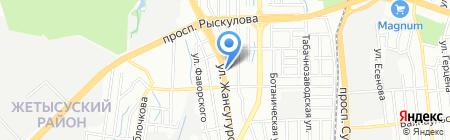 Наурыз продуктовый магазин на карте Алматы