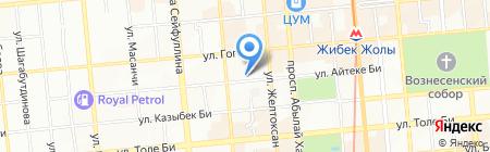 Верный-1 на карте Алматы