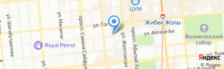 Научный работник на карте Алматы