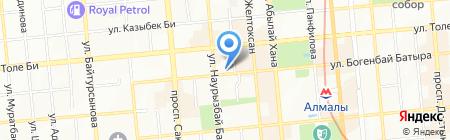 AG Records на карте Алматы