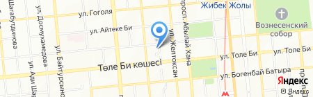 Алматинский городской суд на карте Алматы