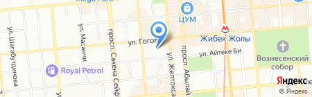 Академия Су Джок на карте Алматы