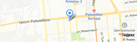 JazzSoft на карте Алматы