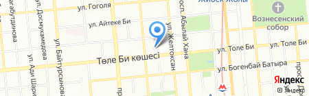 IUS на карте Алматы