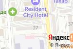 Схема проезда до компании Три А в Алматы
