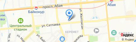 Velour на карте Алматы