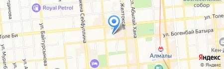CNPC на карте Алматы